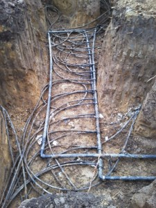 15-ton vertical drilled loopfield in Buffalo